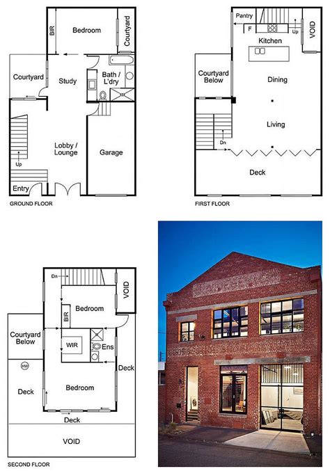 warehouse loft floor plans touch of new york loft style warehouse conversion in