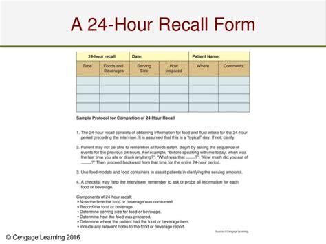 24 Hour Recall Form Vocaalensembleconfianza Nl 24 Hour Diet Recall Template