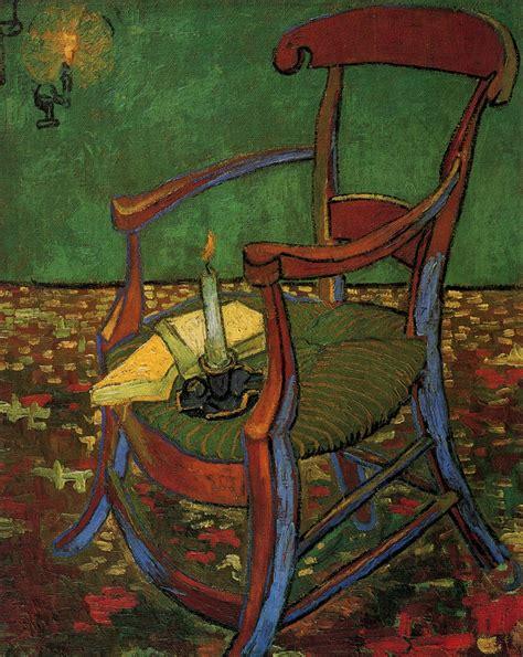 paul gauguin s armchair 1888 vincent van gogh wikiart org