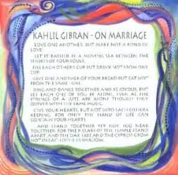 Wedding Quotes Kahlil Gibran Heartful Art Online On Marriage Kahlil Gibran Quote 8x8 Heartful Art By Raphaella Vaisseau