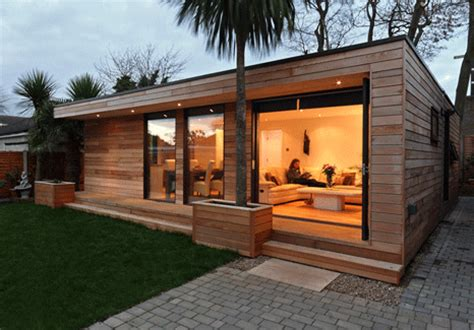 Modern Prefab Cabin mi casa de madera casas bungalows caba 209 as pergolas