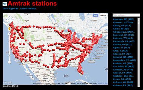 amtrak california station map amtrak stations map my