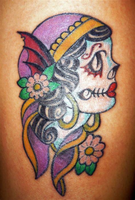 tattoo flash gypsy head skull gypsy head by chiangpink on deviantart