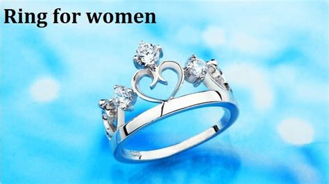Middle Box For Jewellery Kotak Perhiasan 1 rings silver crown prince and princess for