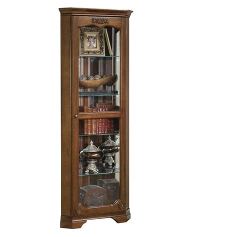 Glass Door Curio Cabinet Coaster Curio Cabinet With Glass Door In Cherry 950195