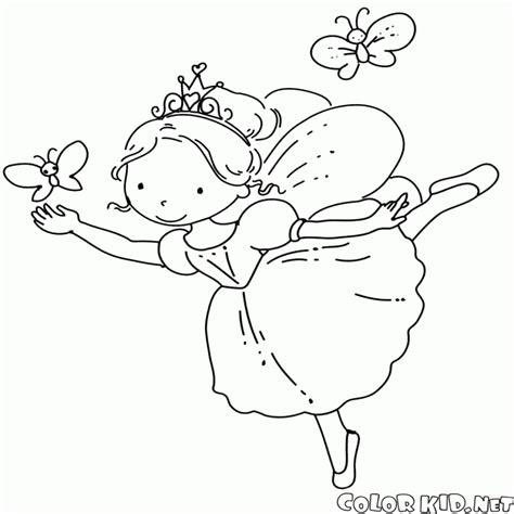 dibujos infantiles vectorizados dibujo para colorear hada y lirios dibujosparacolorear