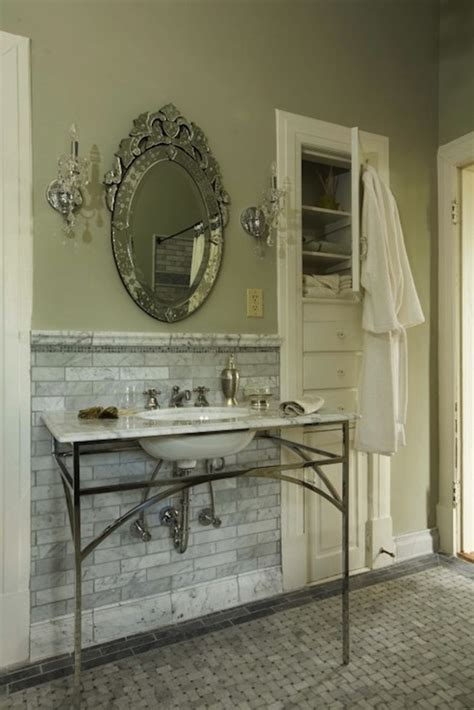 built in wall bathroom cabinets built in bathroom cabinet french bathroom sylvia martin