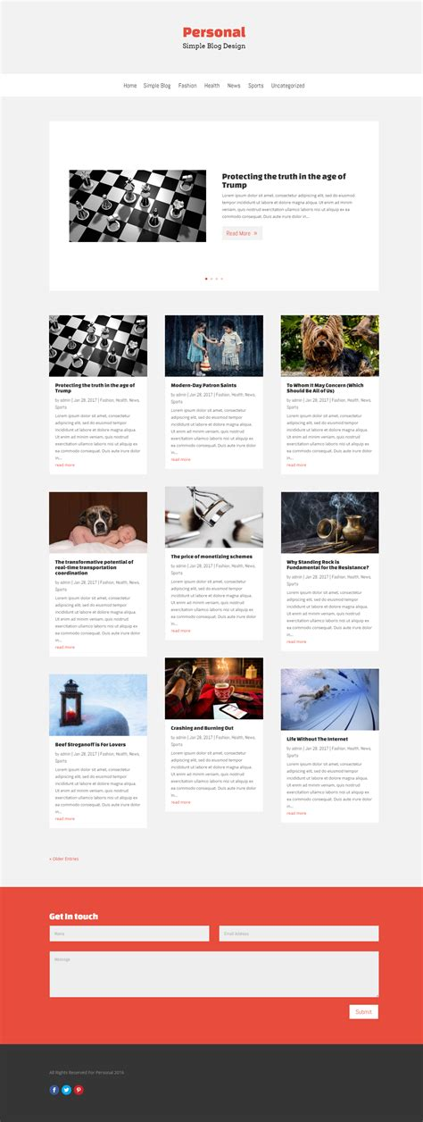 blog layout codecanyon free simple blog divi layout download it now divi kingdom