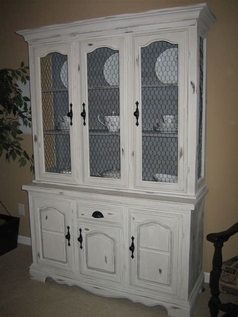 distressed china cabinet gray distressed china cabinet for the home