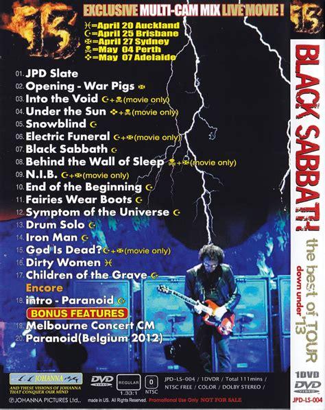 Black Sabbath 6 black sabbath page 6 discjapan