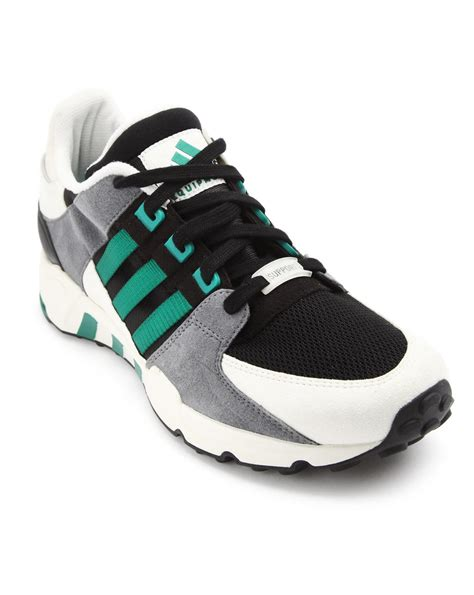 adidas equipment sneakers adidas mlk grey equipment support sneakers in black for