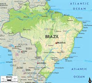 brazil on map of south america travel guide to brazil