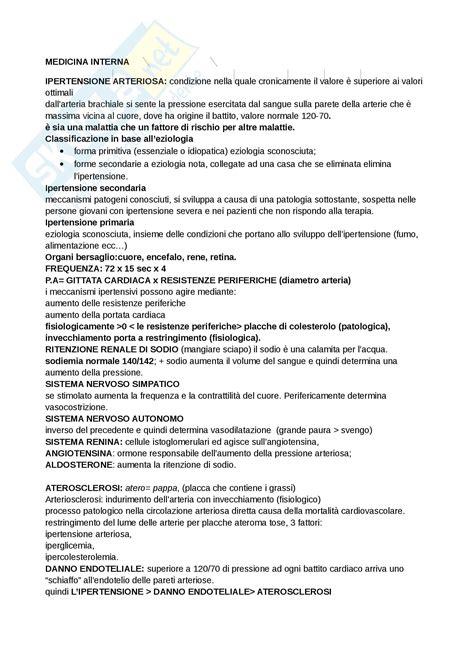 appunti medicina interna appunti medicina interna