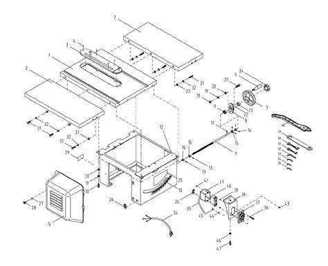 powermatic table saw parts buy powermatic 1791229k 64b table 1 75 hp 115 230v 30