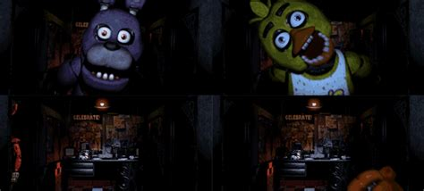 Golden freddy attack from first game