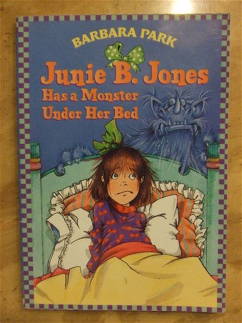 junie b jones has a monster under her bed amazon com junie b jones has a monster under her bed