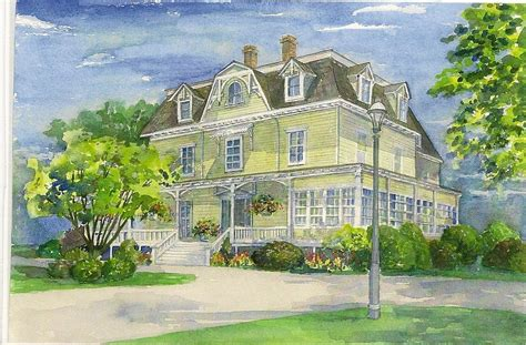house painting art watercolor house paintings and renderings shirley kruse