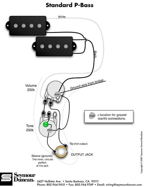 guitar bass wiring artist relations