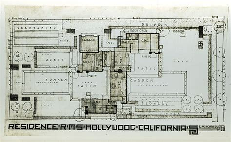 Slab Foundation Floor Plans by Sites Gt Schindler House Mak Center For Art And
