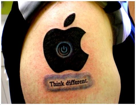 30 stunning apple tattoo designs 22