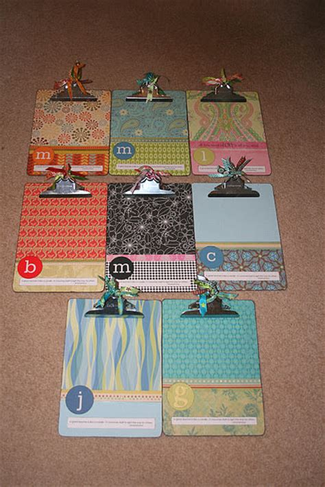 decoupage clipboard 25 ways to organize it with a clipboard tip junkie