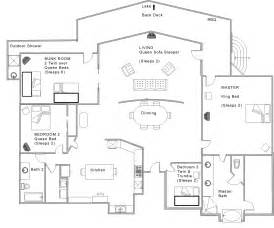 Unique Open Floor Plans by Open Floor House Plans With Unique Open House Plans Home