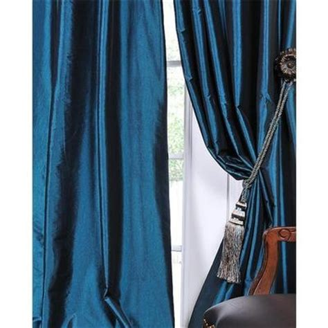 Teal Taffeta Curtains 17 Best Images About Curtains On Curtain Rods Window Panels And Rod Pocket Curtains