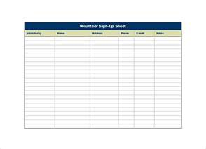 sign up form template free sign up sheet template 13 free documents in