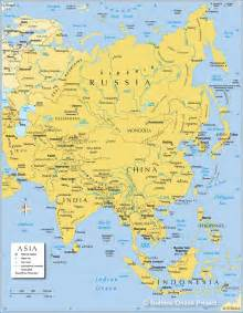 map of asia asia maps