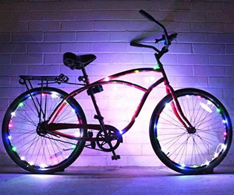 burning bike lights bike wheel lights 2 pack colorful light accessory for