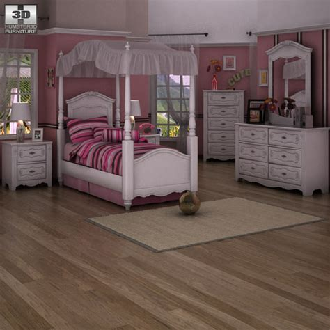 exquisite bedroom set exquisite bedroom set 3d model humster3d