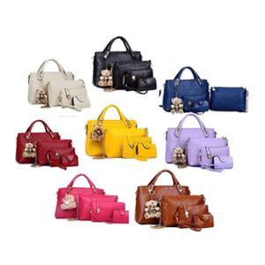Tas Best Quality 4 In 1 1 Paket 4 Tas 1 Boneka Teddy jual tas wanita import 4in1 murah harga terbaru ijual