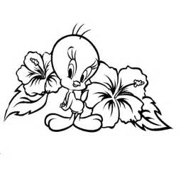 tweety coloring az coloring pages