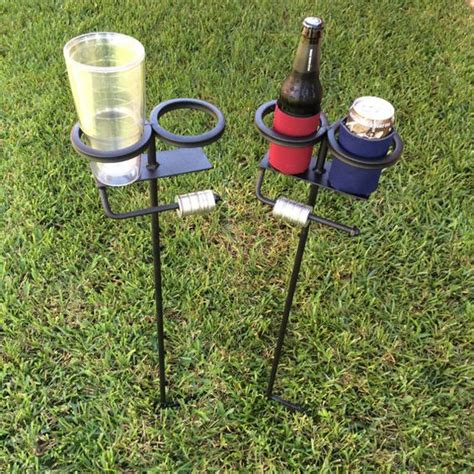 backyard drink holders the world s catalog of ideas