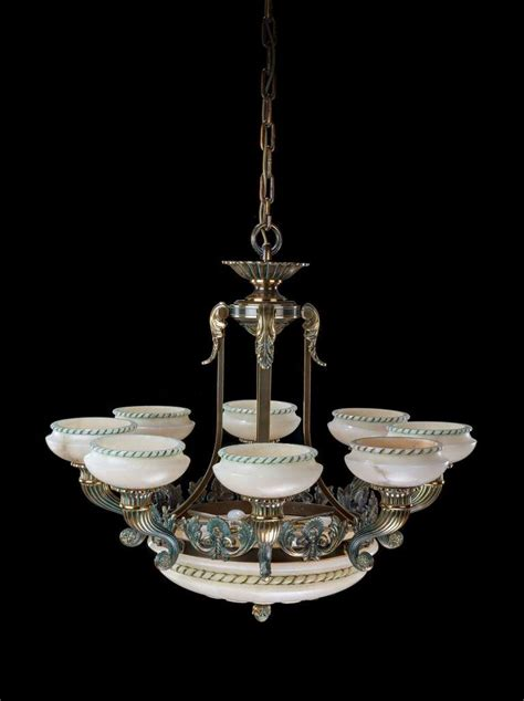 Arm Chandelier Early 20th Century Eight Arm Chandelier For Sale At 1stdibs