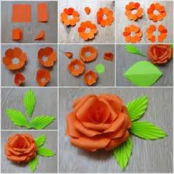 How To Make Paper Roses For - crafting a paper is easy now