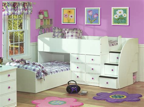 kids low loft bed appealing kids bunk beds with storage designs ideas