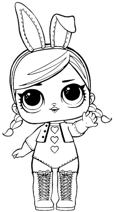 doll lesson lol doll coloring lesson coloring pages for