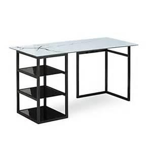 bureaux meubles de bureau bureau blanc laqu 233 alin 233 a
