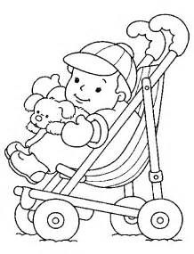 infant color coloriage bebe