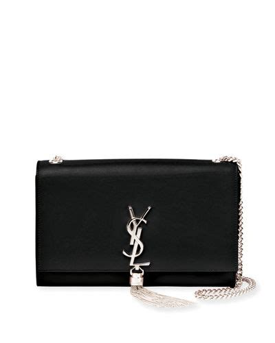 saint laurent kate monogram ysl medium chain tassel