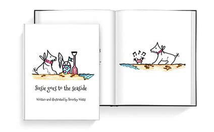 self publish a children's book make a children's book