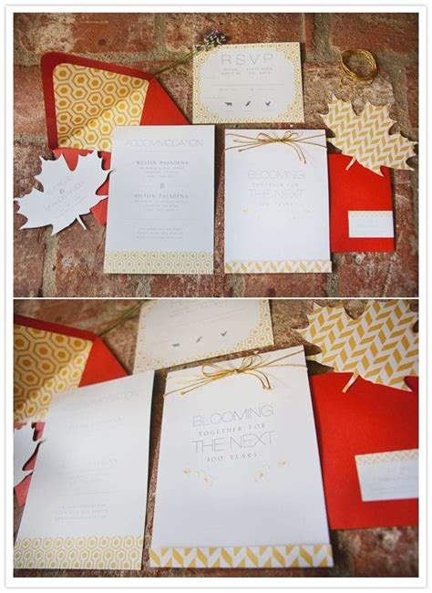 fall wedding invitation kits 17 best images about fall weddings in new on