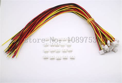 2 wires into 3 pin 20 sets mini micro jst 2 0 ph 3 pin connector with