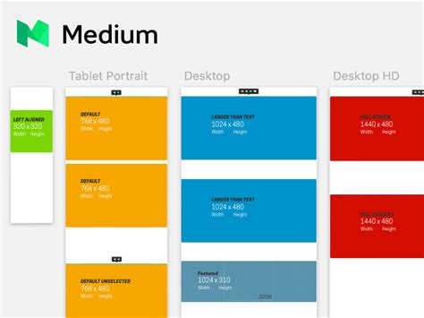 medium template medium images and grids sketch freebie free