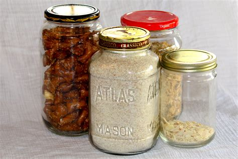 Clear Plastic Kitchen Canisters 5 totally practical ways to use repurposed glass jars