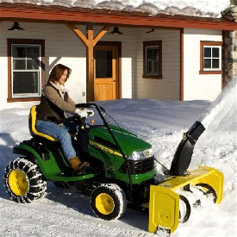 john deere 44 inch snow blower for 100 series tractor 7005m