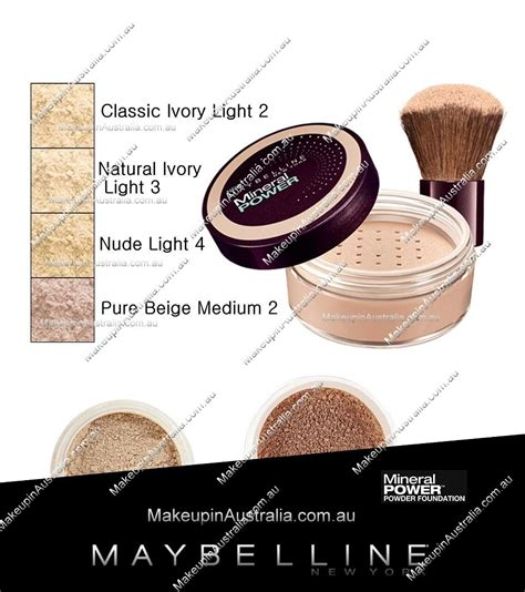 Maybelline Mineral Power Concealer maybelline mineral power powder foundation maybelline