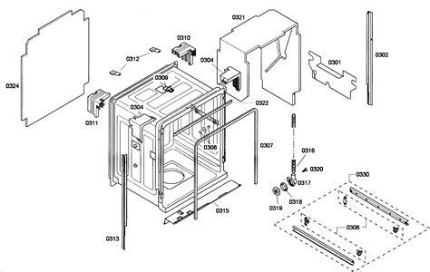 bosch dishwasher parts diagram bosch ecel dishwasher exploded diagram wiring diagram