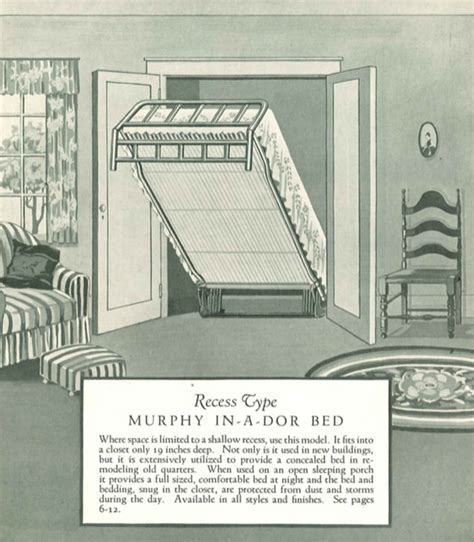 murphy bed  invented   man   wanted
